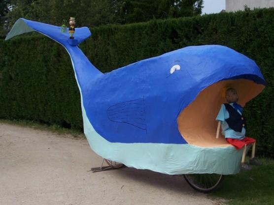 Preparation tandem - Baleine pinocchio ...